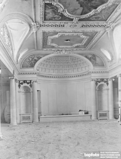 The theatre on RMS Aquitania