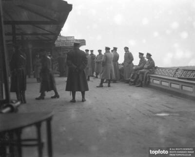 German Prisoners at Southend