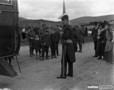 Filming of The Manxman