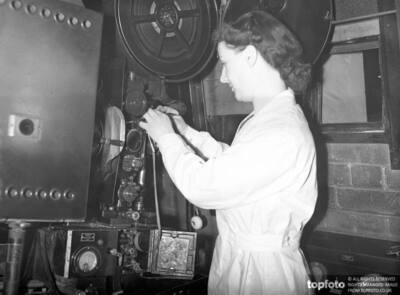 Girl Cinema Operator