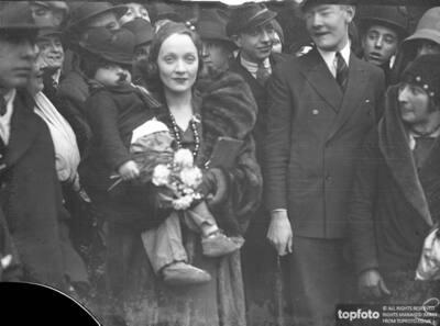 Miss Marlene Dietrich