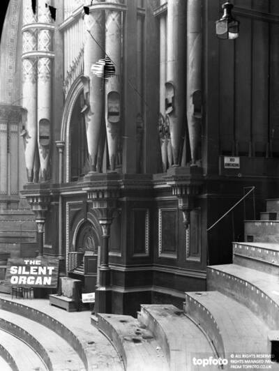 The great organ at Alexandra