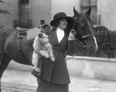 English actress , Miss Marjorie