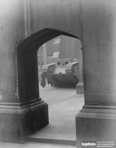 A tank at Lincolns Inn