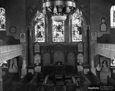 The interior of Wesley '