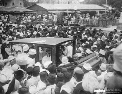 Gandhi addresses university students in