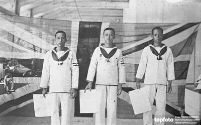 Chinese Bluejackets of HMS Tamar