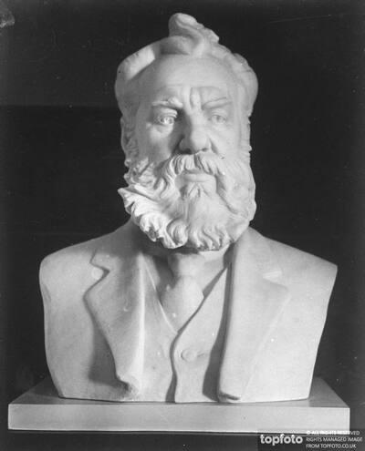 Bust of Alexander Graham Bell