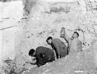 Men in a Denehole (