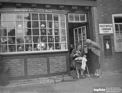 The Cobham post office shop