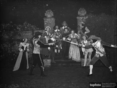 Dramatics group perform Cyrano de