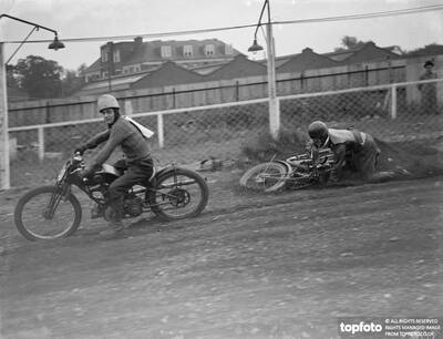 Speedway bikes begin to take