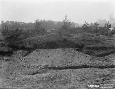 The site where excavation is