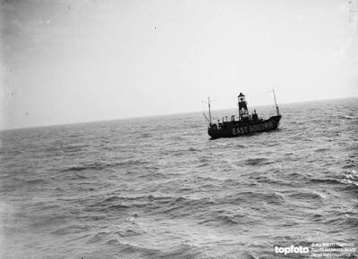 The East Goodwin Lightship ._x000D_ 1935