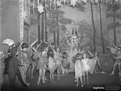 A Pantomime performance of '