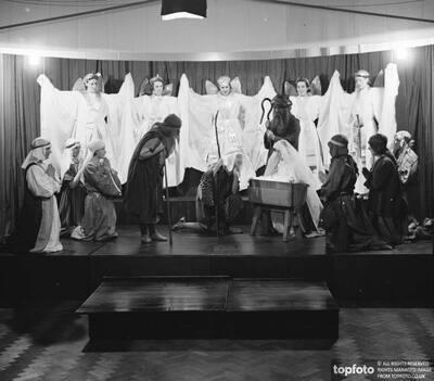Nativity play at St Marys