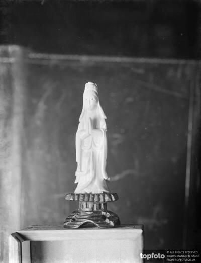 Chinese Goddess - ivory statuette