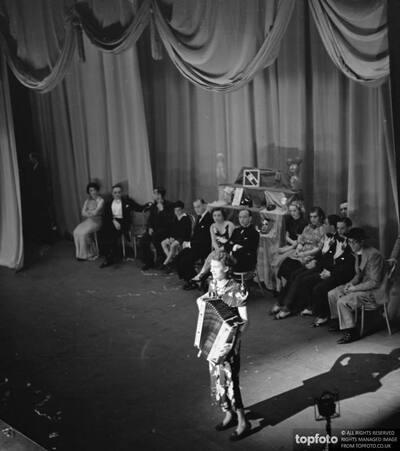 A performance at the Lewisham