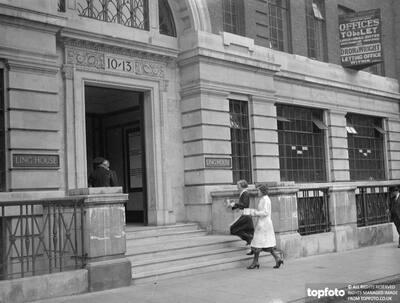 Bank of England opens secret