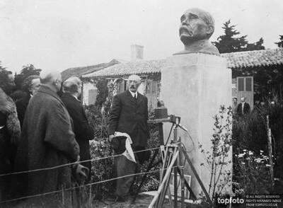 Bust of Clemenceau unveiled by