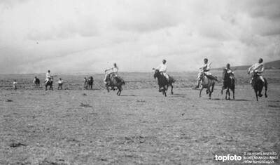 Wild horsemen of Northern Abyssinia