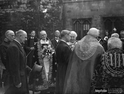 King Edward himself took part