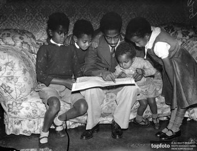 Abyssinian Minister 's children study