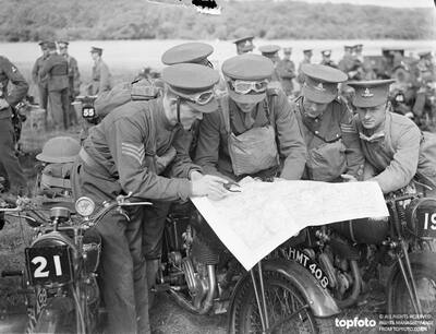 First army motor cycle reliability