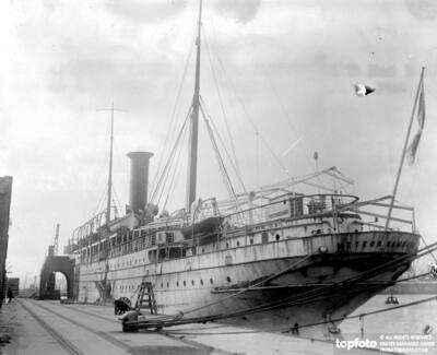 Kaiser's yacht