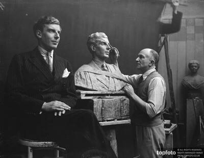 Westminster master ' s bust