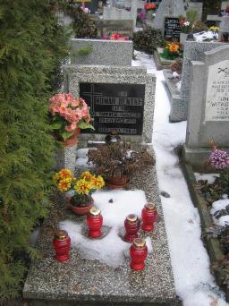 Poznański Czerwiec 1956 r. - Roman Bentke - fotografia grobu z 2006 r.