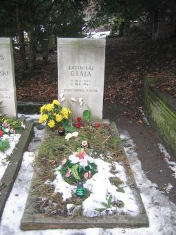 Poznański Czerwiec 1956 r. - Kazimierz Graja - fotografia grobu z 2006 r.