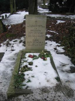 Poznański Czerwiec 1956 r. - Zbigniew Janczewski - fotografia grobu z 2006 r.