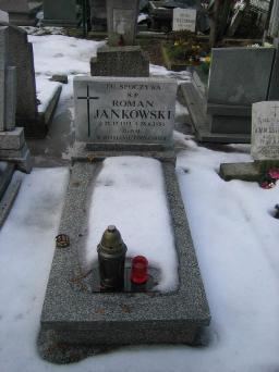 Poznański Czerwiec 1956 r. - Roman Jankowski - fotografia grobu z 2006 r.