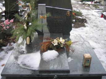 Poznański Czerwiec 1956 r. - Roman Makowski - fotografia grobu z 2006 r.