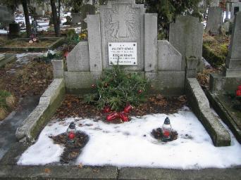 Poznański Czerwiec 1956 r. - Bogdan Nowak - fotografia grobu z 2006 r.