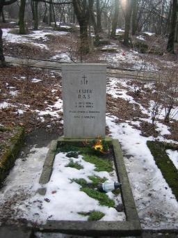 Poznański Czerwiec 1956 r. - Leszek Raś - fotografia grobu z 2006 r.