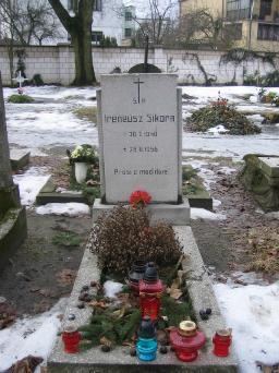 Poznański Czerwiec 1956 r. - Ireneusz Sikora - fotografia grobu z 2006 r.