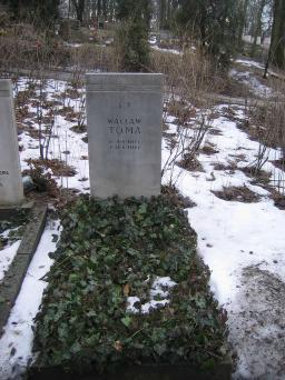 Poznański Czerwiec 1956 r. - Wacław Toma - fotografia grobu z 2006 r.