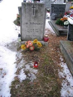 Poznański Czerwiec 1956 r. - Jan Witkiewicz - fotografia grobu z 2006 r.