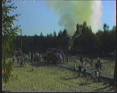 Ost- und westdeutscher Feuerwehreinsatz in Frohnau