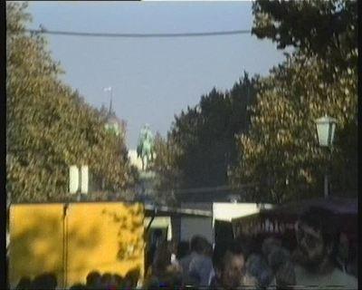 Rund um Unter den Linden am Tag der Deutschen Einheit