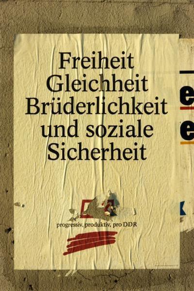 PDS-Plakat Freiheit, Gleichheit, Brüderlichkeit