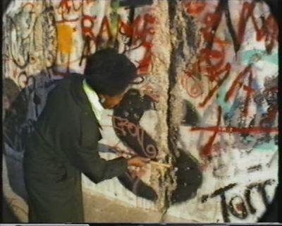 Berlin... nach dem Mauerfall (9. Nov. 1989). 10. Dezember 1989