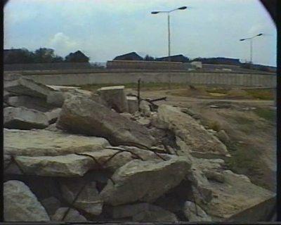Berlin... nach dem Mauerfall (9. Nov. 1989). 1. Juli 1990