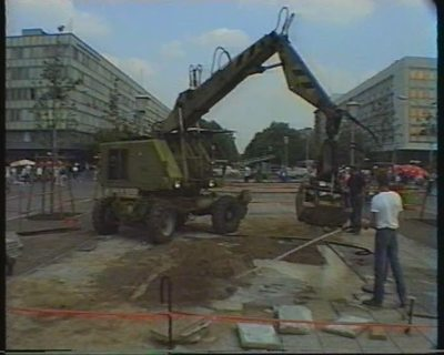 Berlin... nach dem Mauerfall (9. Nov. 1989). 22. Mai 1990