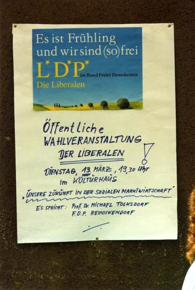 LDP-Plakate Es ist Frühling
