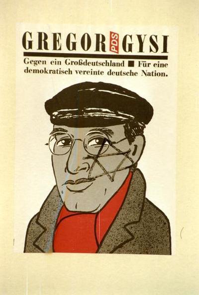 PDS-Plakat Gregor Gysi