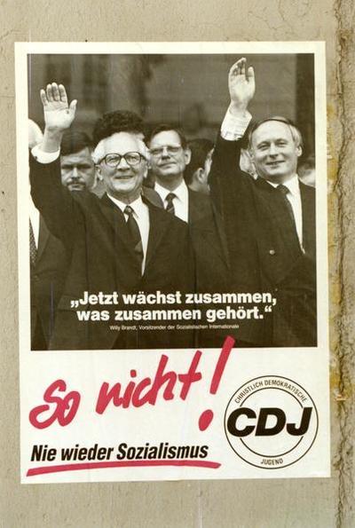 CDJ-Plakat So nicht!