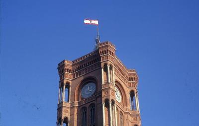 Der Turm des Roten Rathaus